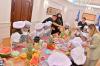 Presidentja Osmani në Ditën e Presidentit/es priti fëmijë të komuniteteve të ndryshme të cilët për disa çaste u shndërruan në kuzhinierë të vegjël