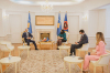Predsednica Osmani dočekala na sastanku italijanskog ambasadora Nicolu Orlandoa