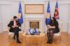 Presidentja e Kosovës, dr. Vjosa Osmani priti nënsekretarin e Shtetit të Finlandës, Kai Sauer