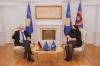 Presidentja Osmani priti në takim nënkryetarin e Parlamentit Evropian Rainer Wieland