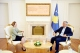 President Thaçi meets Minister Hoxha, offers support for the consolidation of justice