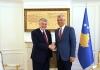 Presidenti Thaçi priti në takim lamtumirës ambasadorin francez Didier Chabert