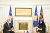 Predsednica Osmani sastala se sa ambasadorom SAD-a na Kosovu Philipom Kosnettom