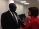 President Jahjaga met with the Foreign Minister of South Sudan, Dr. Barnaba Marial Benjamin