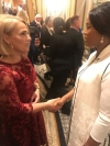 "First Lady of Kosovo meets with counterparts from around the world at the ""Fashion 4 Development"""