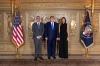 Presidenti Thaçi u prit nga Presidenti i SHBA-së, Donald Trump