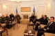 The Acting President of the Republic of Kosovo Dr. Jakup Krasniqi receives the Commander of the NATO Allied Joint Force Command in Naples