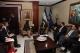 President Jahjaga met with the President elect of Honduras, Mr. Juan Orlando Hernández Alvarado