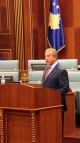 Fjalimi i Presidentit Behgjet Pacolli me rastin e zgjedhjes në detyrën e re