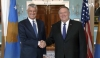 President Thaçi is received by Secretary Pompeo in Washington