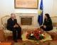 "Predsednica Atifete Jahjaga primila direktora  NVO-e ""Gift of life Kosova"""