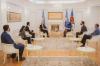 Presidentja e Kosovës, Vjosa Osmani, priti në takim ambasadorin e Japonisë Akira Mizutani