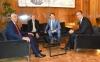 Presidenti Thaçi takoi kancelarin austriak, Kurz, komisonerin Hahn dhe presidentin Vuçiq