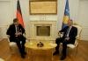 Presidenti Thaçi pranoi letrat kredenciale të ambasadorit të ri të Gjermanisë