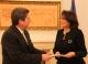 President Jahjaga received the Ambassador of Panama, accredited to Kosovo on non-residential basis
