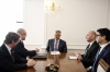 President Thaçi and the Chair of the NATO Parliamentary Association in Canada discuss about cooperation in the security sector