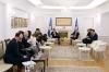 Predsednik Thaçi dočekao potpredsednika Atlantskog saveta Damona Wilsona