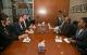 President Jahjaga met with the Foreign Minister of Botswana, Mr. Phandu Skelemani