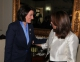 President Jahjaga held separate meetings with the President of Panama, President of Costa Rica and the Foreign Minister of El Salvador