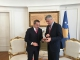 President Thaçi received today the Minister of Interior of Albania, Saimir Tahiri