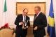 Presidenti Pacolli u takua me Ambasadorin e Italisë, Michael Giffoni