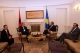 President Pacolli meets Republic of Albania's Ambassador to Kosovo, Islam Lauka