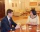 Predsednica Jahjaga je dočekala potpredsednika Alijansa za Budućnost Kosova, Bljerim Šalja