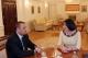 Predsednica Jahjaga je dočekala predsednika Srpske Liberalne Partije, Petrović Slobodan