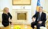 Presidenti Thaçi priti shefen e zyrës greke në Kosovë