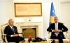 Presidenti Thaçi priti në takim kryeministrin Haradinaj