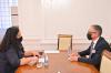Presidentja Osmani priti në takim ministrin Vitia