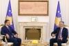 Presidenti Thaçi takim lamtumirës me Ambasadorin e Maqedonisë, Ilija Strashevski