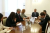 Presidenti Thaçi priti zyrtaren e lartë të DASH-it, Susan Falatko