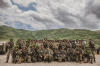 """President Osmani's address to the KSF soldiers who participated at the  """"DEFENDER  - Europe 21"""" exercise"""