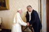Pope Francis received in a private audience President Thaçi
