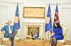 Presidentja Osmani priti në takim ambasadorin e Gjermanisë Jörn Rohde