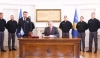 The President officialises the creation of the Kosovo Army