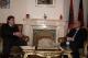 Presidenti Sejdiu takoi shefin e Zyrës së Sllovenisë në Prishtinë, z. Vojko Volk