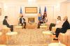 U.d. Presidentja Osmani priti në takim ambasadorin e Austrisë në Kosovë, Christoph Weidinger
