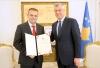 Presidenti Thaçi dekretoi guvernatorin e ri të Bankës Qendrore të Kosovës