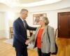 Presidenti Thaçi priti shefen e EULEX-it, Alexandra Papadopoulou
