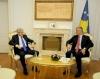 President Thaçi receives  DUI leader, Ali Ahmeti