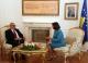 Predsednica Jahjaga  je primila predsednika Ustavnog suda Bugarske