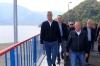 Predsednik Thaçi posetio jezero Gazivode i granični prelaz Brnjak