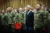 Presidenti Thaçi flet para pjesëtarëve të Forcës së Sigurisë, kërkon unitet për të mirën e Kosovës
