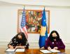 Presidentja Osmani nënshkruan amendament të marrëveshjes me SHBA-të, Kosova përfiton 3 milion dollarë shtesë