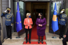 Presidentja Osmani priti në takim presidenten e Komisionit Evropian, Ursula von der Leyen