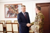President Thaçi received the new KFOR Commander, Salvatore Cuoci