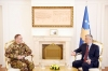 Presidenti Thaçi priti komandantin e ri të KFOR-it, Salvatore Cuoci