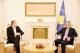 Presidenti Thaçi priti përzgjedhësin e përfaqësueses së Kosovës, diskutuan për rritjen e cilësisë në futboll